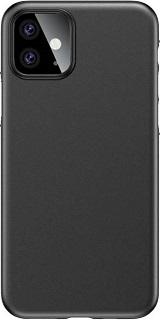 Пластиковая накладка для iPhone 11 Usams Gentle Series черная фото