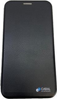 Чехол-книжка для Samsung Galaxy A71 Cabal черный фото