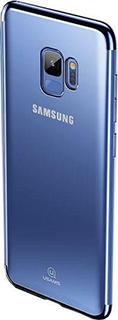 Силиконовая накладка для Galaxy S9 Usams Kingdom Series синий кант фото