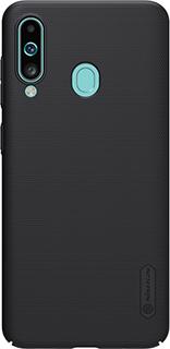 Пластиковая накладка для Samsung Galaxy A60 Nillkin черная фото