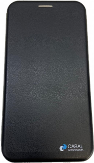 Чехол-книжка для Xiaomi Redmi Note 8 Pro Cabal черный фото