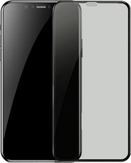 Защитное стекло для iPhone 11 Pro Max Usams US-BH551 антишпион черное фото
