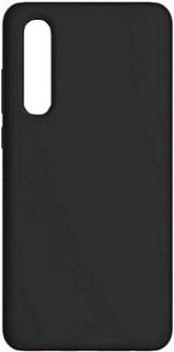 Силиконовая накладка для Huawei P30 Cabal черная фото