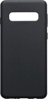Силиконовая накладка для Samsung Galaxy S10 Cabal черная фото