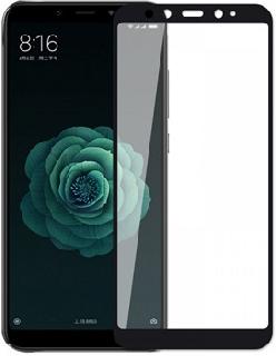 Защитное стекло для Xiaomi Mi 6X/A2 Premium полноэкранное 6D черное фото