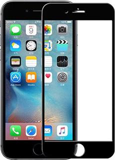 Защитное стекло для iPhone 7 Plus/8 Plus 9D полноэкранное черное в техпаке фото