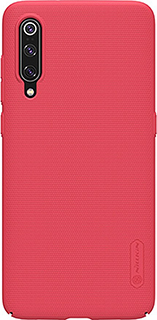 Пластиковая накладка для Samsung Galaxy A50 Nillkin красная фото