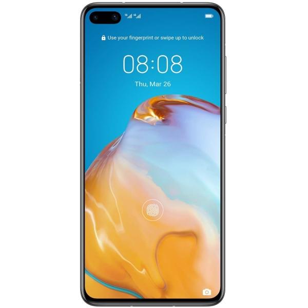 Мобильный телефон Huawei P40 серебристый фото