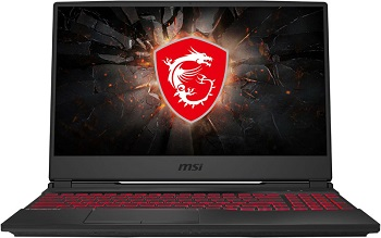 "Ноутбук MSI GL65 Leopard 10SCSR-018RU 15.6"" 1920x1080 мат 120Hz IPS/Core i5 10300H 2.5Ghz/8Gb/512PCISSD/noDVD/Ext:GTX1650Ti 4Gb/Cam/BT/WiFi/w1y/2.3kg/black/W10 (9S7-16U822-018)"