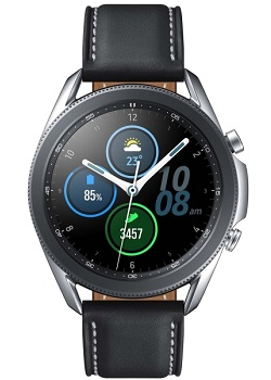 Часы Samsung Galaxy Watch3 45 мм silver\black