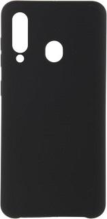 Силиконовая накладка для Samsung Galaxy A60 Cabal черная фото