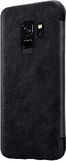 Кожаный чехол для Samsung Galaxy S9 Nillkin Book Cover черный фото