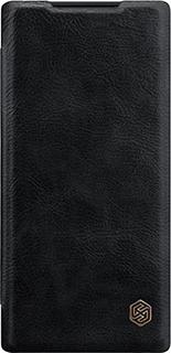 Чехол кожанный для Samsung Galaxy Note10 Nillkin черный