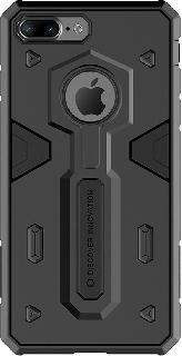 Противоударная накладка для iPhone 7 Plus/8 Plus Nillkin черная фото